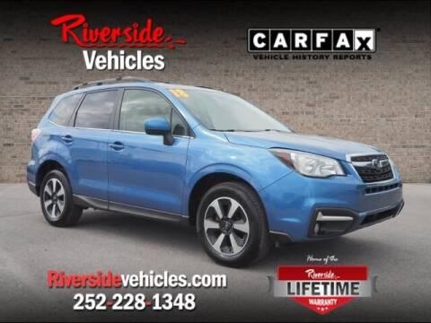 2018 Subaru Forester for sale at Riverside Mitsubishi(New Bern Auto Mart) in New Bern NC