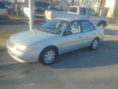 2002 Toyota Corolla for sale at D & D Auto Sales in Topeka KS