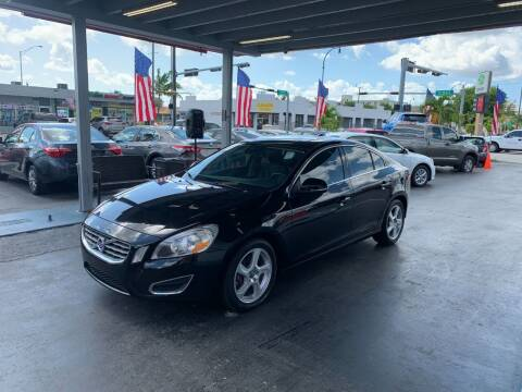 2012 Volvo S60 for sale at American Auto Sales in Hialeah FL