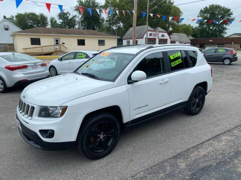 2014 Jeep Compass for sale at PEKIN DOWNTOWN AUTO SALES in Pekin IL