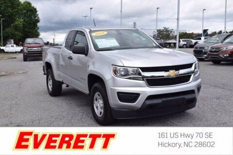 2018 Chevrolet Colorado for sale at Everett Chevrolet Buick GMC in Hickory NC