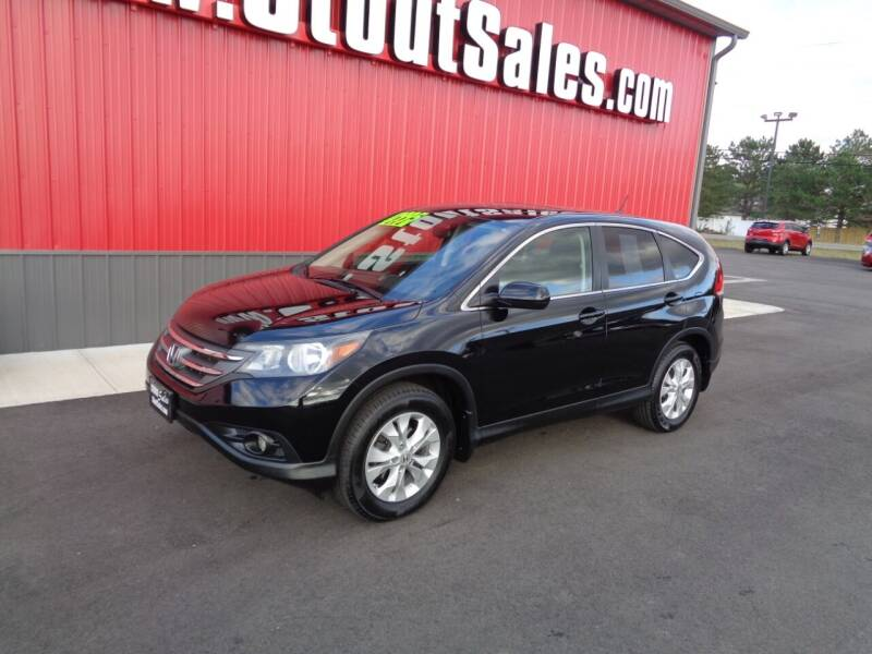 2012 Honda CR-V for sale at Stout Sales in Fairborn OH
