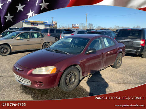 2002 Chrysler Sebring for sale at Paris Auto Sales & Service in Big Rapids MI