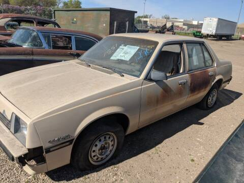 1982 Chevrolet Cavalier for sale at Okoboji Classic Cars in West Okoboji IA