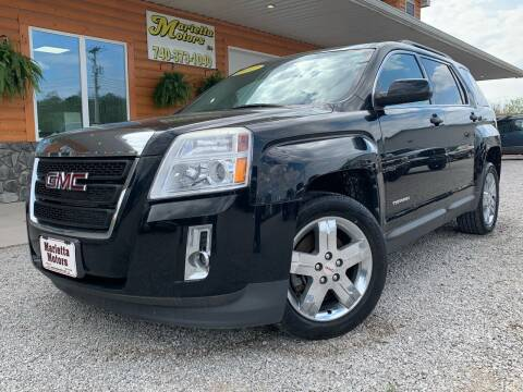 2012 GMC Terrain for sale at MARIETTA MOTORS LLC in Marietta OH