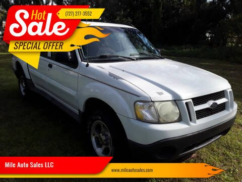 2005 Ford Explorer Sport Trac for sale at Mile Auto Sales LLC in Holiday FL