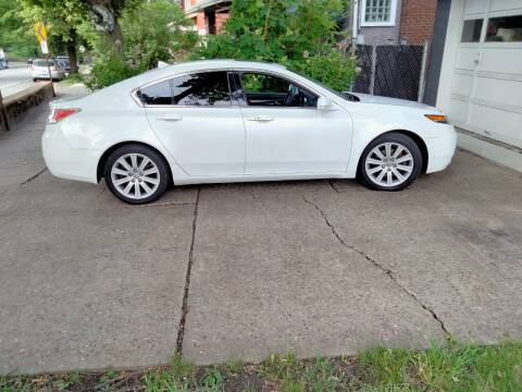 2013 Acura TL for sale at High Level Auto Sales INC in Homestead PA