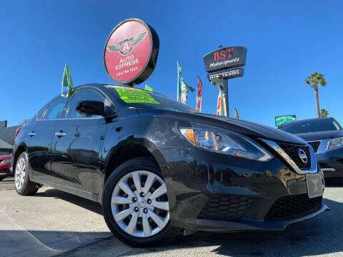 2017 Nissan Sentra for sale at Auto Express in Chula Vista CA