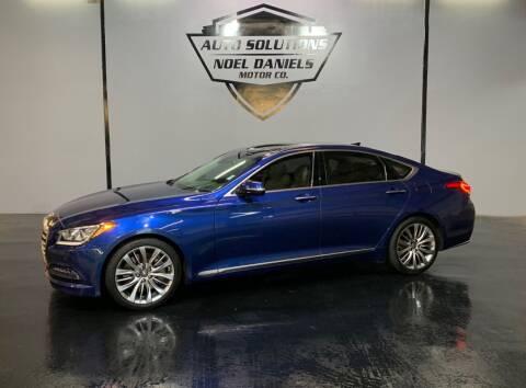 2015 Hyundai Genesis for sale at Noel Daniels Motor Company in Ridgeland MS