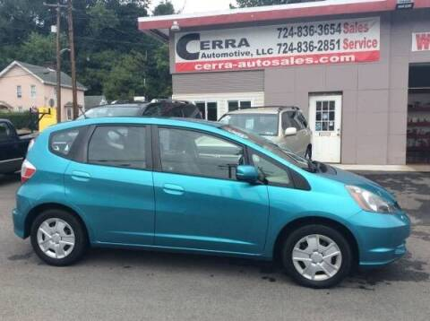2012 Honda Fit for sale at Cerra Automotive LLC in Greensburg PA