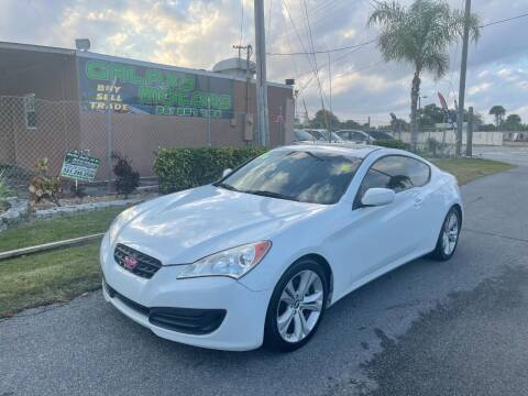 2011 Hyundai Genesis Coupe for sale at Galaxy Motors Inc in Melbourne FL