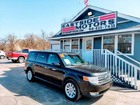 2010 Ford Flex for sale at EASTSIDE MOTORS in Tulsa OK