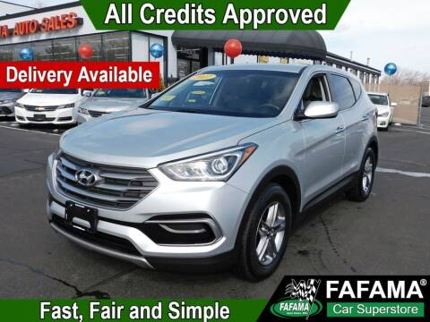 2017 Hyundai Santa Fe Sport for sale at FAFAMA AUTO SALES Inc in Milford MA