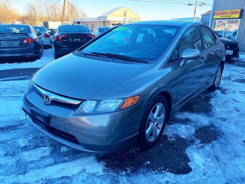 2007 Honda Civic for sale at Dijie Auto Sale and Service Co. in Johnston RI