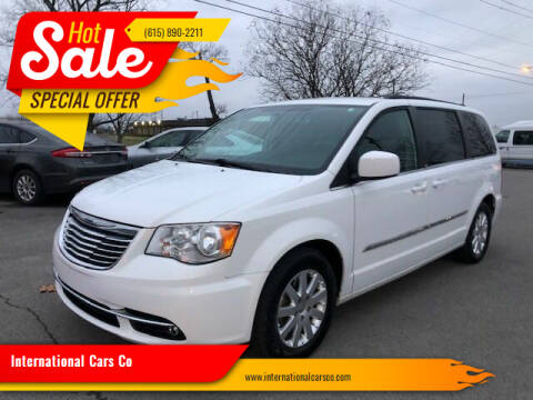 2014 Chrysler Town and Country for sale at International Cars Co in Murfreesboro TN