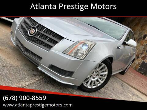 2011 Cadillac CTS for sale at Atlanta Prestige Motors in Decatur GA
