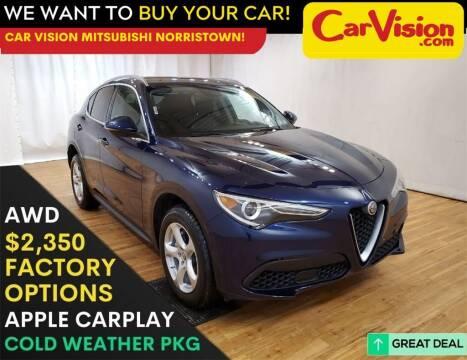 2019 Alfa Romeo Stelvio for sale at Car Vision Mitsubishi Norristown in Trooper PA