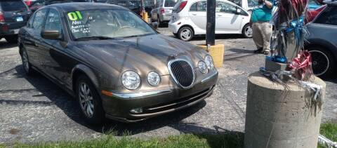 2001 Jaguar S-Type for sale at Arak Auto Group in Bourbonnais IL