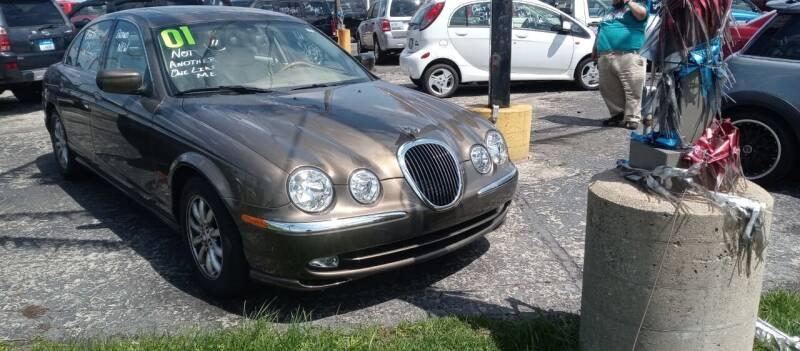 2001 Jaguar S-Type for sale at Arak Auto Group in Bourbonnais IL