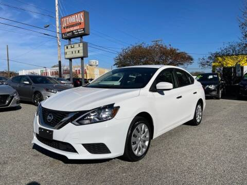 2018 Nissan Sentra for sale at Autohaus of Greensboro in Greensboro NC