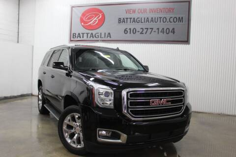 2015 GMC Yukon for sale at Battaglia Auto Sales in Plymouth Meeting PA