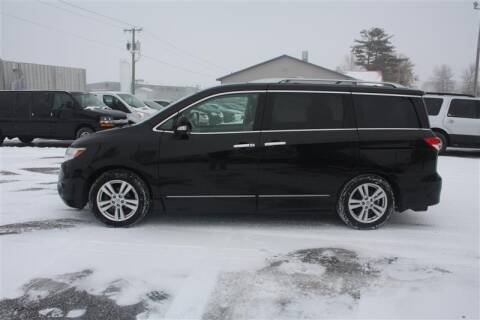 2012 Nissan Quest for sale at SCHMITZ MOTOR CO INC in Perham MN