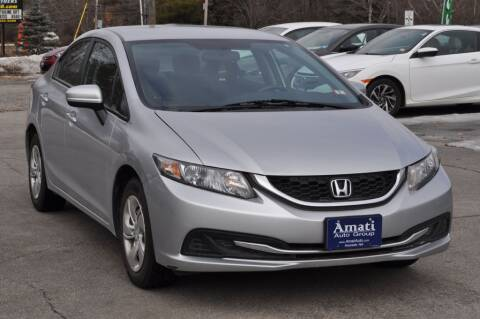 2015 Honda Civic for sale at Amati Auto Group in Hooksett NH