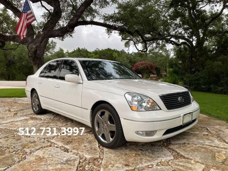 2001 Lexus LS 430 for sale at Austin Elite Motors in Austin TX