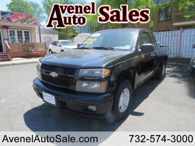 2007 Chevrolet Colorado for sale at Avenel Auto Sales in Avenel NJ