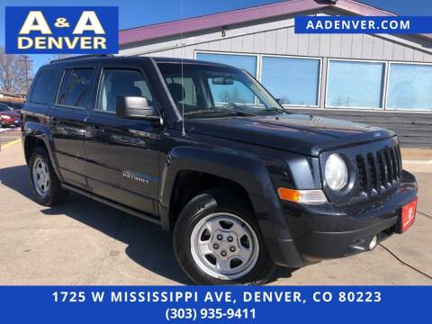 2014 Jeep Patriot for sale at A & A AUTO LLC in Denver CO