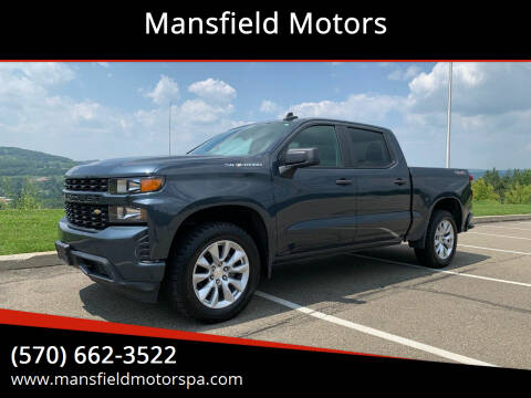 2019 Chevrolet Silverado 1500 for sale at Mansfield Motors in Mansfield PA