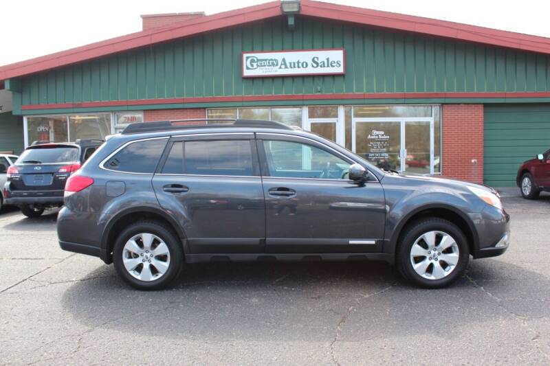 2012 Subaru Outback for sale at Gentry Auto Sales in Portage MI