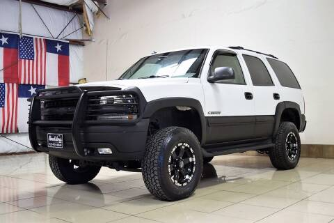 2003 Chevrolet Tahoe for sale at ROADSTERS AUTO in Houston TX