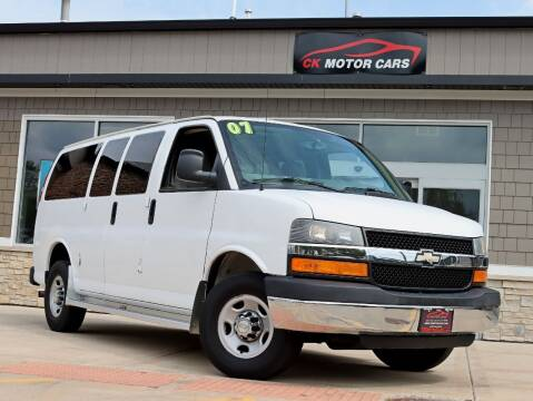 2007 Chevrolet Express Passenger for sale at CK MOTOR CARS in Elgin IL