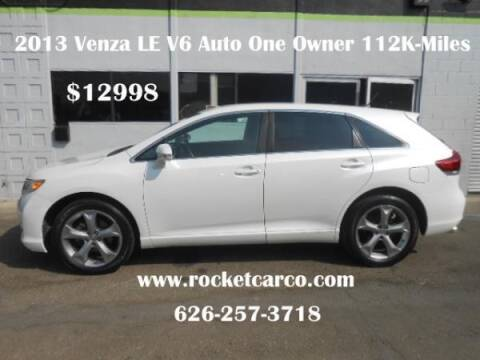 2013 Toyota Venza for sale at Rocket Car sales in Covina CA