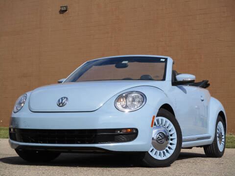 2013 Volkswagen Beetle Convertible for sale at Autohaus in Royal Oak MI