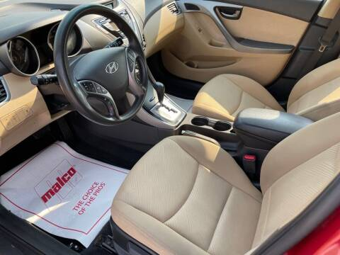2013 Hyundai Elantra for sale at Wildfire Motors in Richmond IN