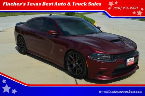 2017 Dodge Charger for sale at Fincher's Texas Best Auto & Truck Sales in Tomball TX