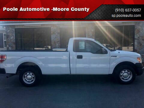 2013 Ford F-150 for sale at Poole Automotive -Moore County in Aberdeen NC