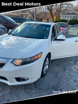 2011 Acura TSX for sale at Best Deal Motors in Saint Charles MO