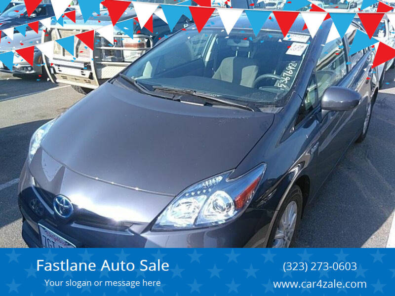 2015 Toyota Prius Plug-in Hybrid for sale at Fastlane Auto Sale in Los Angeles CA