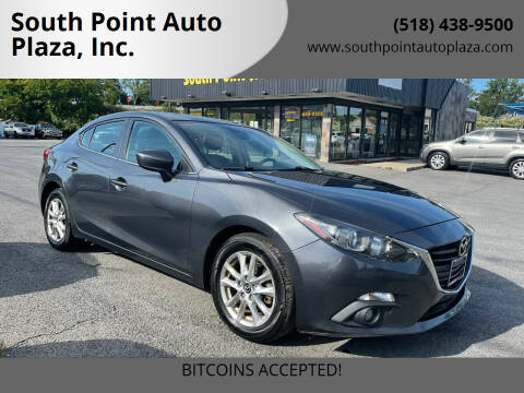 2015 Mazda MAZDA3 for sale at South Point Auto Plaza, Inc. in Albany NY