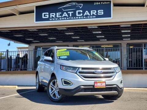 2015 Ford Edge for sale at Great Cars in Sacramento CA