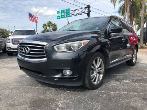2015 Infiniti QX60 for sale at Gtr Motors in Fort Lauderdale FL
