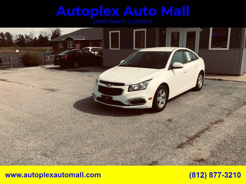 2016 Chevrolet Cruze Limited for sale at Autoplex Auto Mall in Terre Haute IN