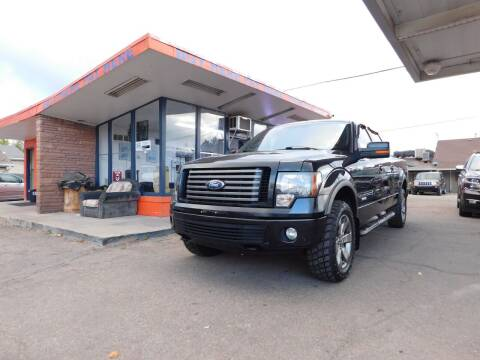 2012 Ford F-150 for sale at INFINITE AUTO LLC in Lakewood CO