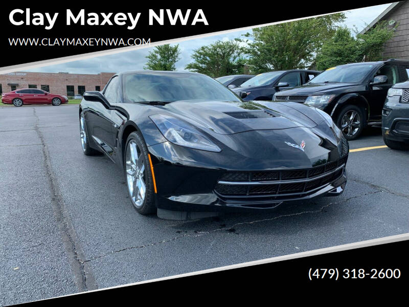 2019 Chevrolet Corvette for sale at Clay Maxey NWA in Springdale AR