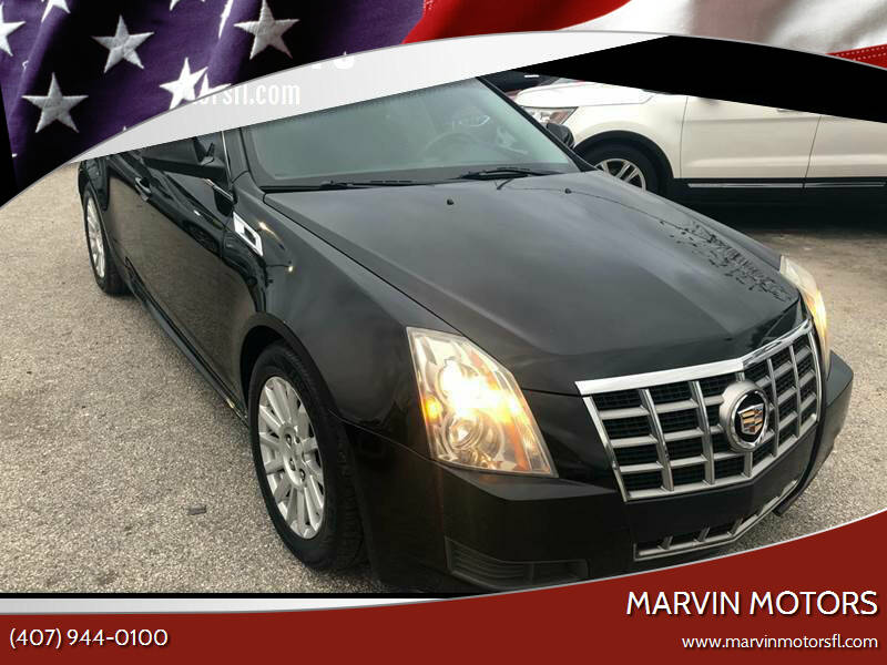 2012 Cadillac CTS for sale at Marvin Motors in Kissimmee FL