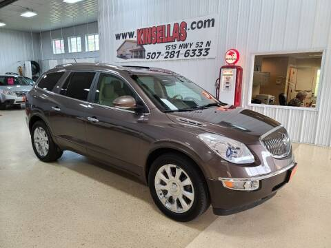 2012 Buick Enclave for sale at Kinsellas Auto Sales in Rochester MN