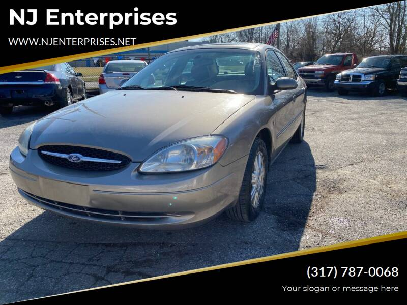 2003 Ford Taurus for sale at NJ Enterprises in Indianapolis IN